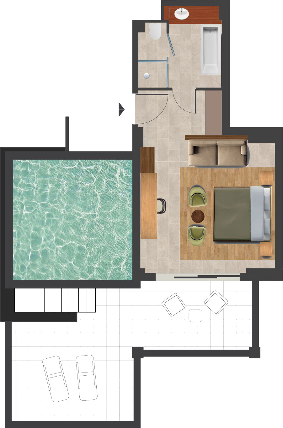 executive-suite-private-pool